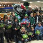 Grün-Weiße Weihnachtsfeier in der Volkswagen Arena