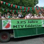 125 Jahre MTV Eddesse - Festwagen MTV